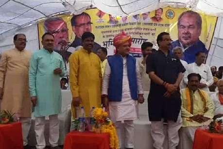 केंद्रीय मंत्री नरेंद्र सिंह तोमर ने किया 62 सड़कों का भूमि पूजन!