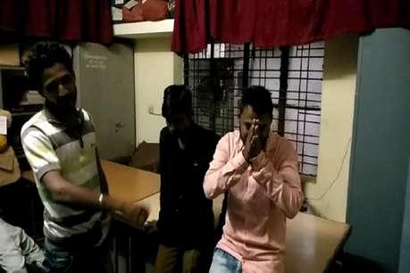 जिला अस्पताल में हंगामा कर रहे फर्जी टीआई सहित तीन गिरफ्तार