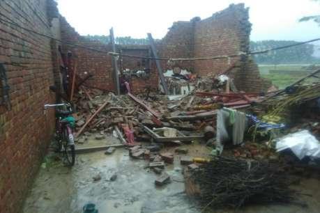सहारनपुर में गिरा मकान, एक ही परिवार के 6 लोगों की दर्दनाक मौत