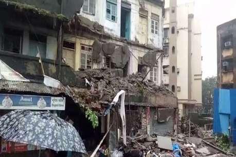 मुंबई: कुर्ला इलाके में तीन मंजिला इमारत का एक हिस्सा गिरा