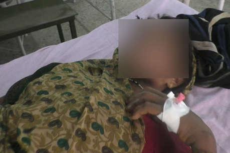 हमीरपुर: गैंगरेप के बाद दबंगों ने महिला को निर्वस्त्र कर घुमाया, पुलिस ने दर्ज किया मारपीट का केस