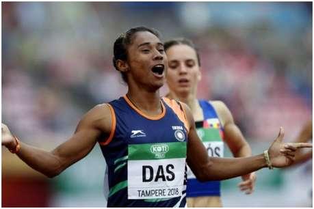 हिमा दास ने 200 मीटर में फाउल के लिए 2 व्यक्तियों को ठहराया जिम्मेदार