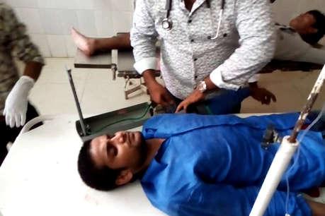आजमगढ़: 24 घंटे में दूसरा एनकाउंटर, दो 50-50 हजार के इनामी घायल, गिरफ्तार
