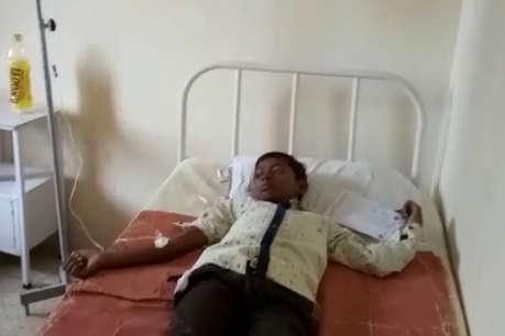 हमीरपुर: मिडडे मील में दूषित दूध पीने से 12 बच्चों की हालत बिगड़ी, अध्यापक फरार