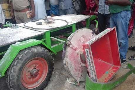संतकबीरनगर: आटा चक्की में हुआ भीषण विस्फोट, 2 की मौत