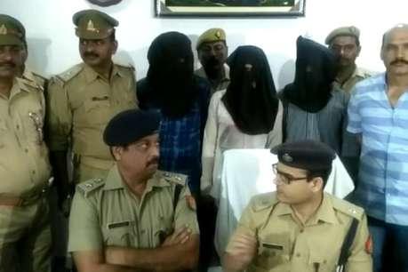 गोरखपुर पुलिस ने वांटेड अपराधियों पर कसा शिकंजा, 3 इनामी गिरफ्तार