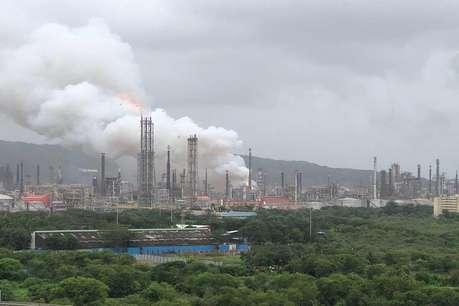 मुंबई: भारत पेट्रोलियम के प्लांट में लगी आग, 43 लोग घायल