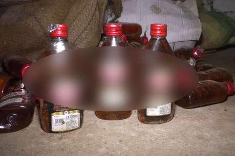 ललितपुर में 4 शराब तस्कर गिरफ्तार