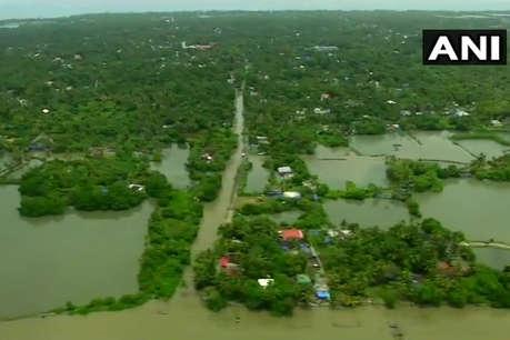 केरल में बारिश रुकने से थोड़ी राहत, सीएम ने किया बाढ़ पीड़ितों के मुआवज़े का ऐलान