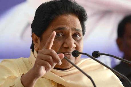 मायावती का योगी पर आरोप, कहा-अपने और संघ के कैडर को मुर्दा मान चुकी है BJP