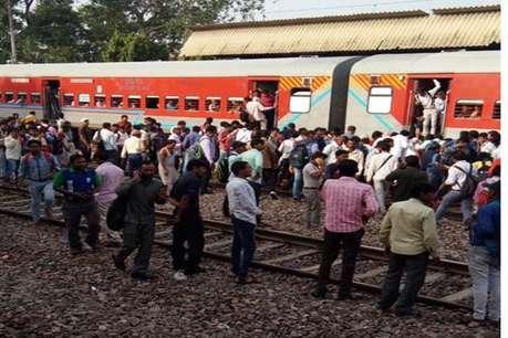 मथुरा: राजधानी एक्सप्रेस की चपेट में आए 7 लोग, दो की मौत
