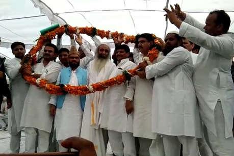 मुजफ्फरनगर में सेक्युलर मोर्चा की पहली जनसभा में पहुंचे शिवपाल यादव