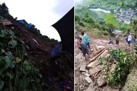 टिहरी में भूस्खलन के मलबे में दबकर एक ही परिवार के 7 लोगों की मौत