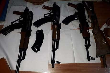 जबलपुर आर्म्स डिपो से बिहार में AK-47 की स्मगलिंग, मुंगेर पुलिस का खुलासा