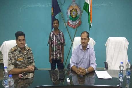 12 जवानों की हत्या में शामिल नक्सली दंतेवाड़ा से गिरफ्तार