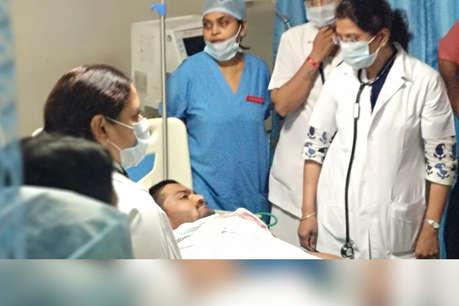 14 दिन से अनशन पर बैठे हार्दिक पटेल की तबीयत बिगड़ी, अस्पताल में भर्ती