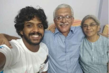 वर्नोन गोन्साल्विस के बेटे सागर ने कहा- राजनीतिक कैदी का बेटा होने पर गर्व है