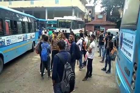 सिरमौर में दूसरे दिन भी नहीं चली निजी बसें, 160 रूट रहे प्रभावित