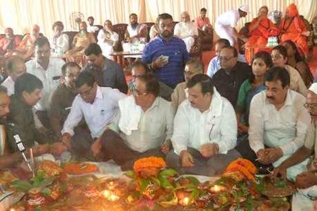 कुंभ मेले में बनेंगे 40 थाने और 59 चौकियां, वैदिक मंत्रोच्चार के साथ हुआ भूमि पूजन
