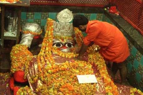इलाहाबाद में लेटे हनुमान जी ने किया गंगा स्नान, खोला गया मंदिर का कपाट