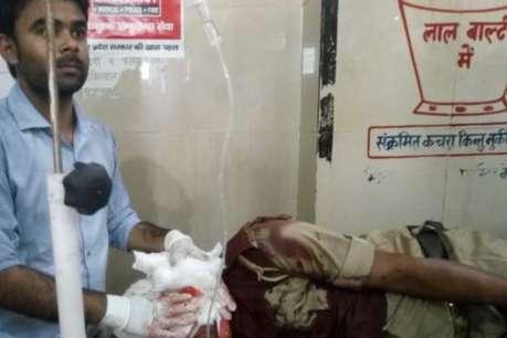 फरियादी ने DM दफ्तर में तैनात होमगार्ड जवान पर किया गड़ासे से हमला