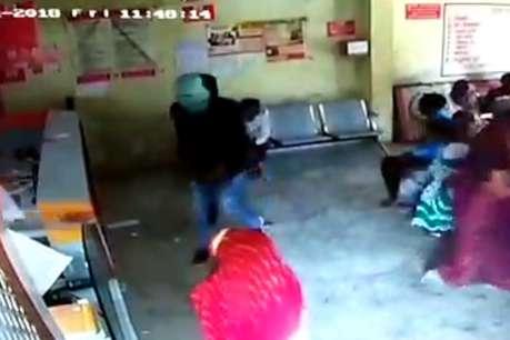 प्रतापगढ़: ग्रामीण बैंक लूट कांड में सामने आया CCTV वीडियो