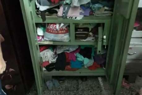 हमीरपुर: 20 मिनट में चोर उड़ा ले गए लाखों का माल, लोगों में आक्रोश