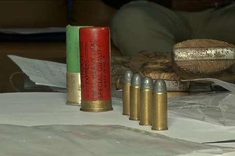 इंदौर क्राइम ब्रांच ने हथियार तस्कर गिरोह को धरा, नौ पिस्टल जब्त