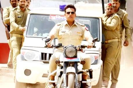 'सनकी दरोगा' रवि किशन का संदेश -अपराध देखकर वीडियो न बनाएं!