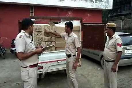 सोनीपत पुलिस ने पकड़ी अवैध शराब की 1077 पेटियां, 3 आरोपी गिरफ्तार