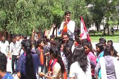 कुमाऊं विश्वविद्यालय के कॉलेजों में छात्र संघ चुनाव की हलचल तेज