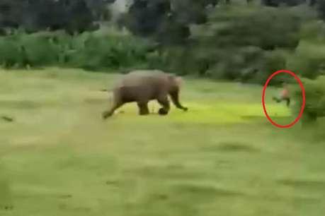 हाथियों का हमला, कुचलने से 14 वर्षीय बालक की मौत
