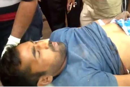जोधपुर में बदमाशों ने सरेआम युवक को मारी गोली, हमलावर हुए फरार