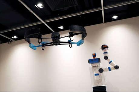 ड्रोन कैमरों का व्यावसायिक इस्तेमाल एयरपोर्ट सुरक्षा के लिए बड़ी चुनौतीः CISF महानिदेशक