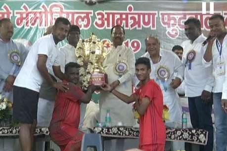 झारखंड में अंतरराष्ट्रीय स्तर की फुटबॉल टीम बनाने का ऐलान