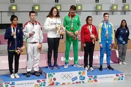 यूथ ओलंपिक में हरियाणा की बेटी ने गोल्ड के बाद जीता सिल्वर