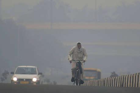 सुधार के बावजूद दिल्ली की वायु गुणवत्ता अभी भी 'बेहद खराब'