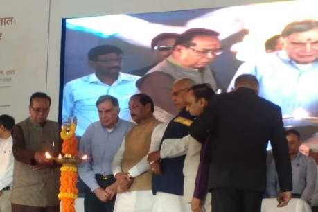 CM रघुवर दास और रतन टाटा ने किया कैंसर अस्पताल का शिलान्यास, अत्याधुनिक सुविधाओं से होगा लैस