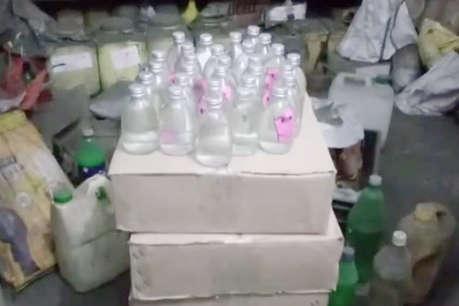 देसी शराब के 192 पौवा के साथ आरोपी गिरफ्तार, पूछताछ जारी