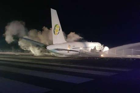 गुयाना हवाईअड्डे पर विमान दुर्घटनाग्रस्त, छह घायल : मंत्री