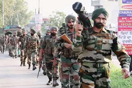 भारत-पाक इंटरनेशनल बॉर्डर पर पंजाब पुलिस का बड़ा सर्च ऑपरेशन
