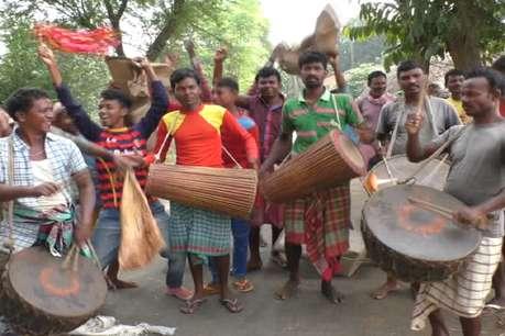 घाटशिला के ग्रामीण इलाकों में धूमधाम के साथ मनाया गया सोहराय पर्व