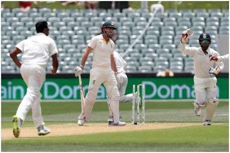 एडिलेड टेस्ट: शॉन मार्श 'अजीबोगरीब' शॉट खेलकर हुए आउट, 130 साल में बना ये शर्मनाक रिकॉर्ड