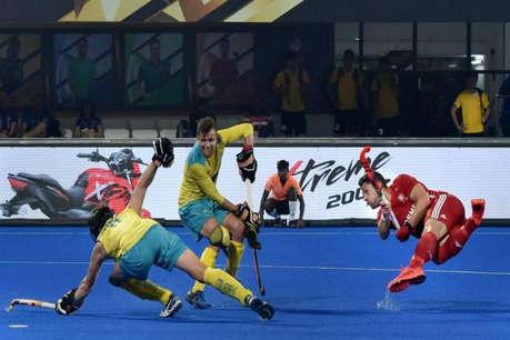 Hockey world cup 2018: ऑस्ट्रेलिया ने इंग्लैंड को 3-0 से हराया