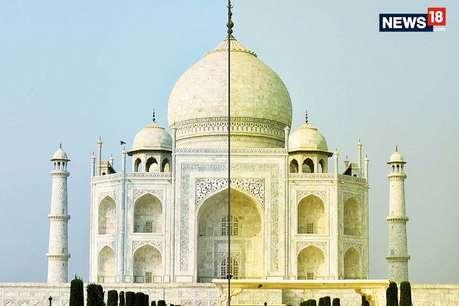 सफेद से पीला हुआ ताजमहल लेकिन ये ऐतिहासिक इमारतें चार बार बदल चुकी हैं रंग