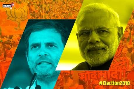 विधानसभा चुनाव 2018: राहुल गांधी ने की पीएम नरेन्द्र मोदी से दोगुनी रैलियां, क्या सीटें भी होंगी दोगुनी!