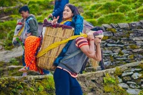 MOVIE REVIEW : सारा अली खान की पहली फिल्म नहीं लगती 'केदारनाथ'