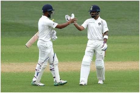 एडिलेड टेस्ट: गेंदबाजों के बाद कोहली-पुजारा ने दिखाया दम, मजबूत स्थिति में टीम इंडिया