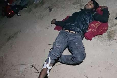 गाजियाबाद: पुलिस मुठभेड़ में घायल हुआ बदमाश, सिपाही को लगी गोली