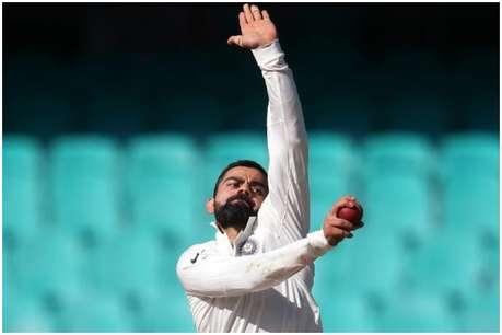 टीम इंडिया के गेंदबाजों की हुई जमकर धुनाई लेकिन कोहली खुशी से नाचने लगे, ये है वजह